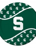 Michigan State University Spartans Dinner Plates (8)