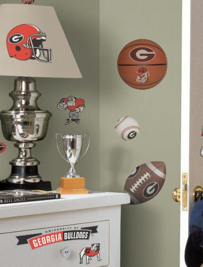 Georgia Bulldogs - Removable Wall Decals