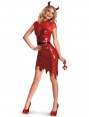 Deluxe Glam Sequin Devil Costume