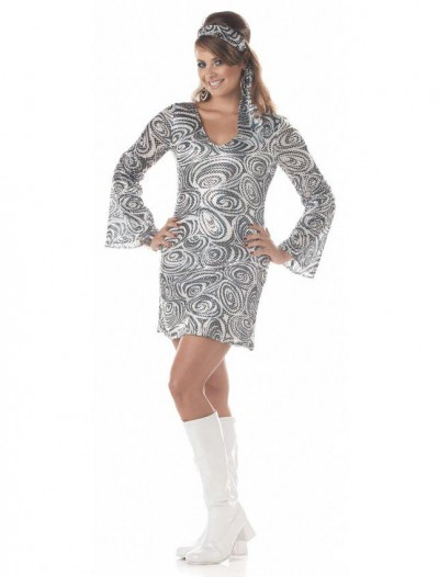Disco Diva Adult Plus Costume