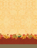 Thanksgiving Blessing Plastic Tablecover