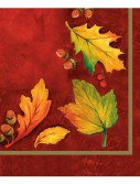 Autumn Glory Beverage Napkins (18)