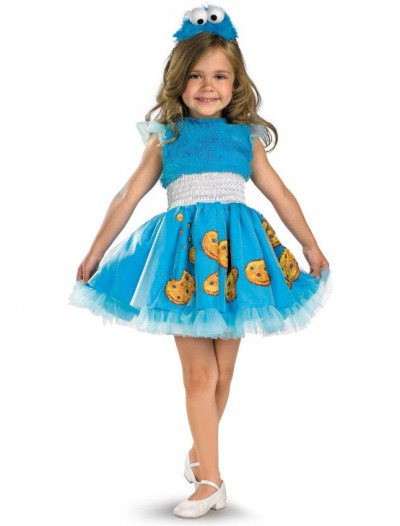 Sesame Street - Frilly Cookie Monster Toddler / Child Costume