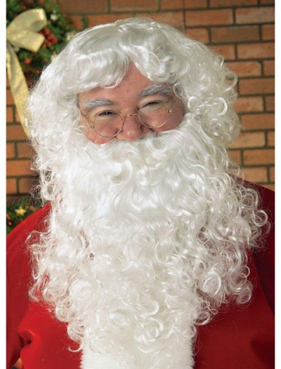 Economy Santa Beard Wig Set Adult