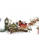 5' Santa's Sleigh Workshop Props Wall Add-Ons
