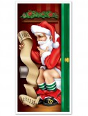 5' Santa Restroom Door Cover