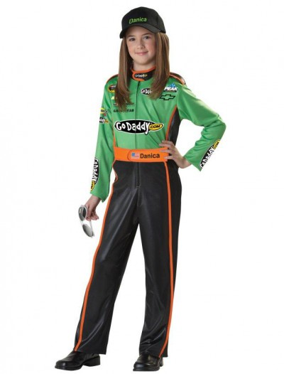 NASCAR Danica Patrick Husky Child Costume