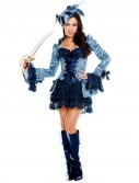 Blue Victoria Pirate Adult Costume