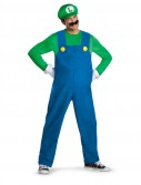 Super Mario Brothers - Luigi Adult Plus Size Costume