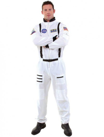 Astronaut Adult Plus Costume