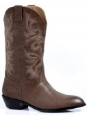 Western Cowboy (Brown) Male Adult Boots