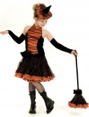 Orange Tutu Witch Child Costume