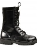 Women's Adult (Black) Combat Boots