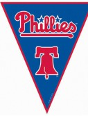 Philadelphia Phillies Baseball - 12' Pennant Banner